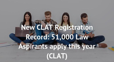 New CLAT Registration Record: 51,000 Law Aspirants apply this year