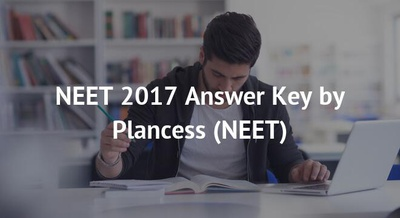 NEET 2017 Answer Key by Plancess