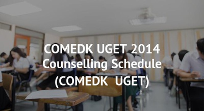 COMEDK UGET 2014 Counselling Schedule