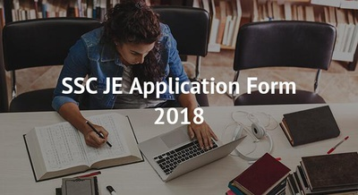 SSC JE Application Form 2018