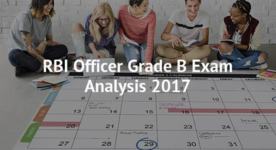 RBI Officer Grade B Exam Analysis 2017