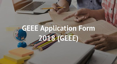 GEEE Application Form 2018