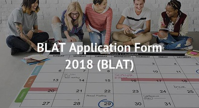 BLAT Application Form 2018