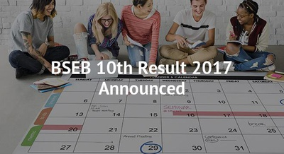 BSEB 10th Result 2017 Announced