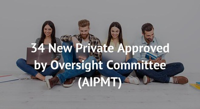 34 New Private Approved by Oversight Committee