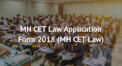 MH CET Law Application Form 2018