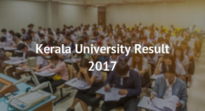 Kerala University Result 2017
