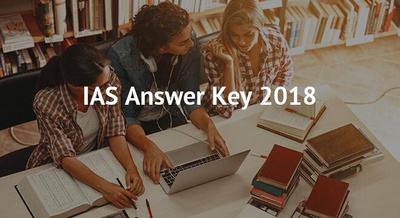 IAS Answer Key 2018