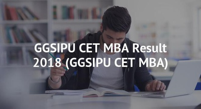 GGSIPU CET MBA Result 2018