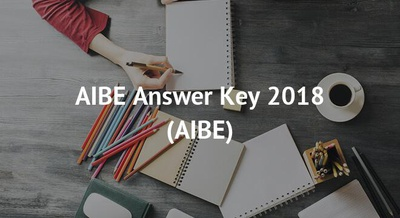 AIBE Answer Key 2018