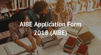 AIBE Application Form 2018