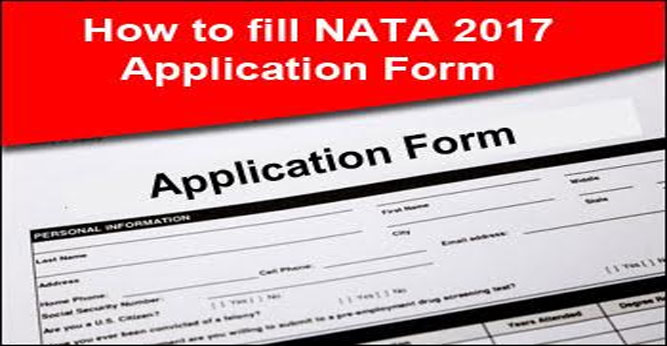 How To Fill Nata  Application Form  Check Steps To Fill Form