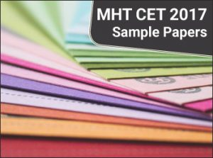 MHT CET 2017 Sample Papers