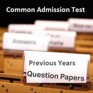 CAT Previou years Question papers