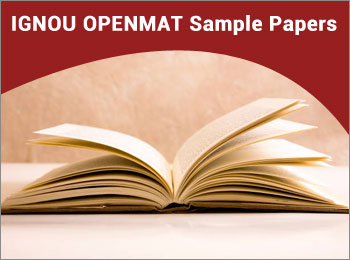 IGNOU OPENMAT Sample Papers 2018