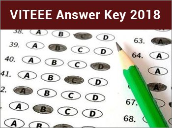 VITEEE Answer Key 2018