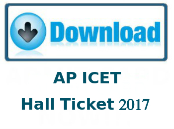 AP ICET Hall Ticket 2017 Issued on April 28