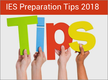 IES Preparation Tips