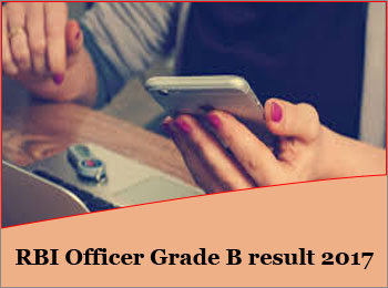RBI Officer Grade B Result