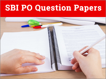 SBI PO Question Papers