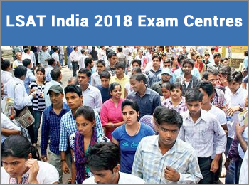 LSAT India exam Centres