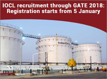 IOCL Recruitment through GATE 2018