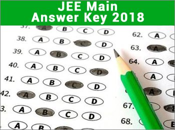 jee main answer key 2018 official released download here